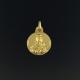 Medalla en oro 18 kt de la Virgen del Carmen OPME-00506