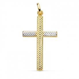 Cruz en oro 18 kt CR-16865