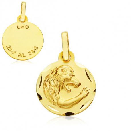 Horoscopo en oro 18 kt