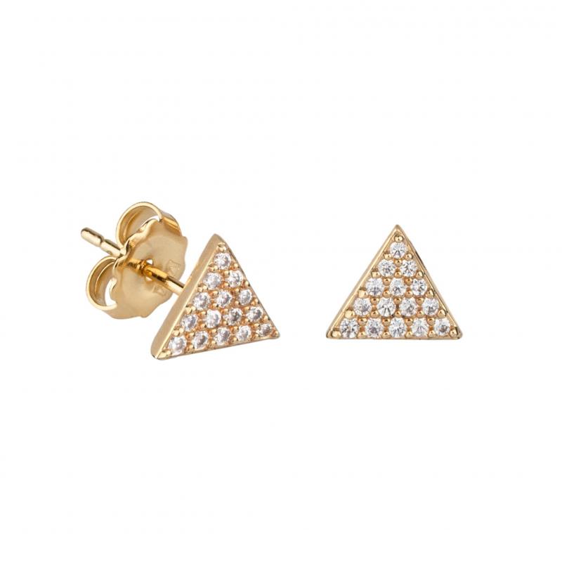 venta caliente online 162fb 61883 Pendientes chapados en oro vidal y vidal .Gold plated earrings