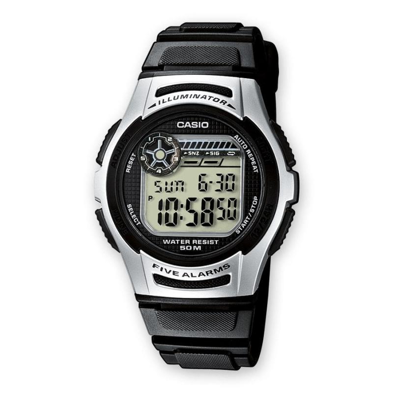 fd92e8b9fb20 Reloj Casio W-213-1AVES Funciones hora