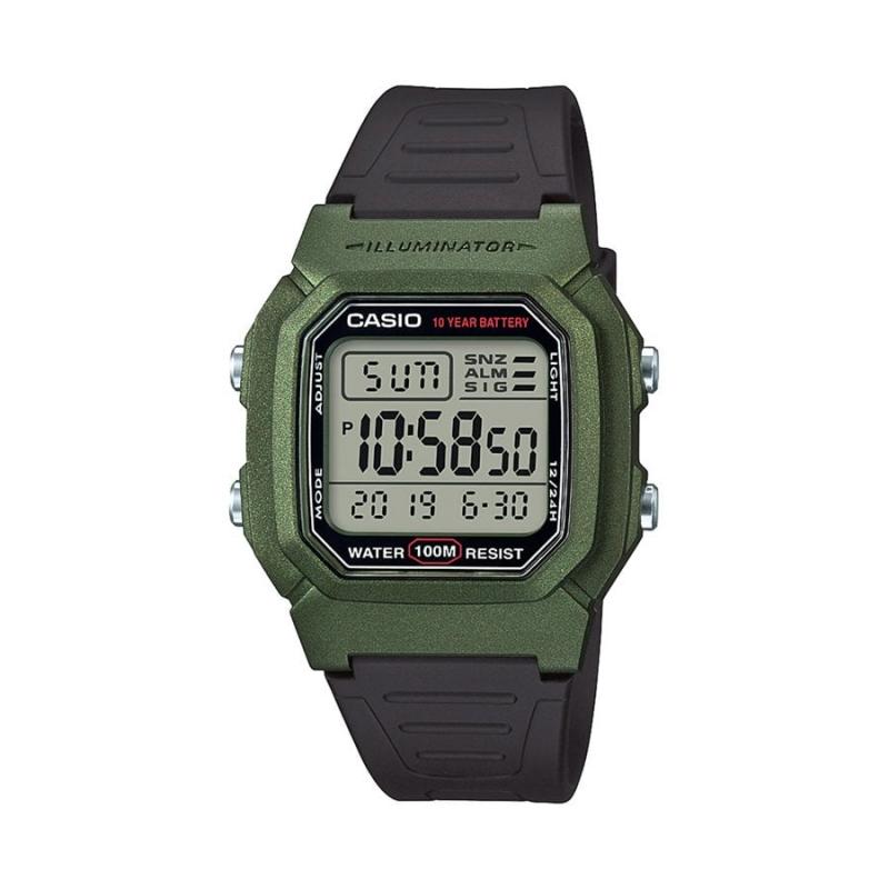7e1ef854a7c1 Reloj Casio W-800HM-3AVEF Funciones hora