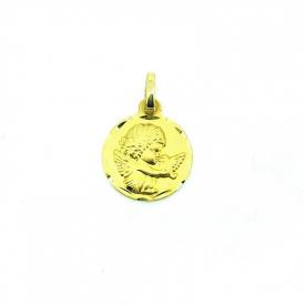 Medalla bebé  en oro 18 kt ME00582