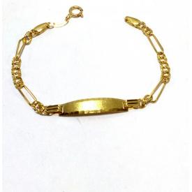 Baby brazelet in gold 18 kt