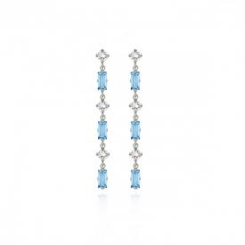 Long earrings Victoria Cruz A3675-10HT
