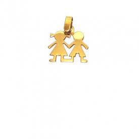 Gargantilla  en oro blanco G-16756