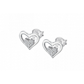 Pendientes Lotus silver earrings lp3124-4/1