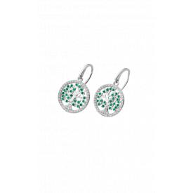 Lotus silver lp1895-4/1 earrings