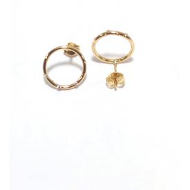 Long earrings gold 18 kt A-da-80