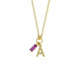 Necklace Victoria Cruz  A3774-ADG