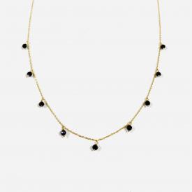 Gold necklace CL00281