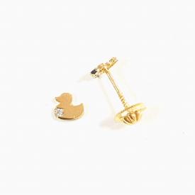 Baby earrings in gold 18kt PE03415