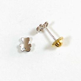 Baby earrings in gold 18kt PE03399