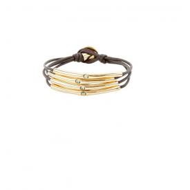 Uno de 50 bracelet PUL2070GRSORO
