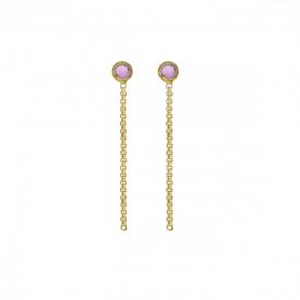 Long earrings victoria  cruz A3960-31DT