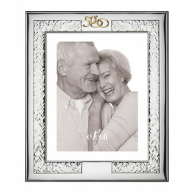 Photo frame for Gold weddings