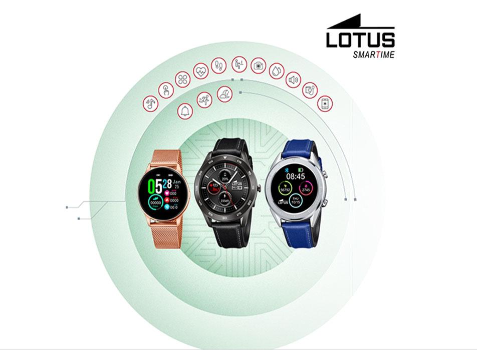 Relojes Smart Lotus